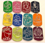 Zodiac Pendants<br>1 Set Of 12 For
