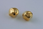 16mm Gold Plated Plastic Bead<br>1/2 gross for