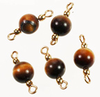 Tiger Eye Beads<br>6mm<br>100 For