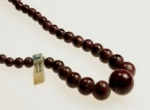 Graduated Glass Beads 18 Inch Strands<br> Made In Japan<br>10 Strands For