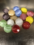 Glass Chatons<br>20mm Moonstone Colors<br>1/2 gross for