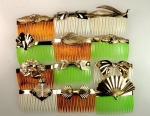 Fashion Hair Comb Assortment<br>1 Dozen<br>