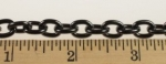 Black Plated Steel Cable Chain<br>10 Feet For