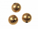 Brass Beads Textured Surface<br>11mm<br>1 Gross For