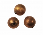 Brass Beads Textured Surface<br>12mm<br>1 Gross For