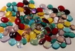 Free Form Glass Cabochons<br>2 Pounds For