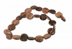 Wood Bead <br>18mm<br>10 Strands For
