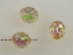 Plastic Crystal Aurora Borealis Beads<br>Available In 3 Sizes<br>1 Pound For