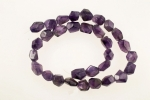 Amethyst Nugget<br>One 15 Inch Strand For
