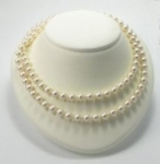 Neck form display<br>White Leatherette<br>1 for