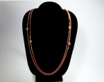 Single strand Station Necklace<br>54 Inches<br>1 Dozen For