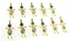 Swarovski boy charms<br>9 dozen for