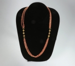 Multi Strand Necklace<br>52 Inches Long