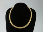 Brass Mesh Collar<br>17 Inches<br>3 pieces For