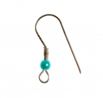 Fish Hook Ear Wire<br>Sterling Silver Plated<br>2 Gross For