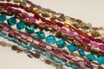 Mother Of Pearl Nugget Beads<br>12 Strands For