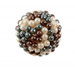 Beaded Pearl Cabochon<br>4 Dozen For