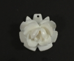 Plastic Rose Pendant<br>50 Pieces For