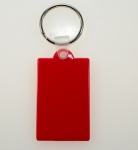 Split Key Ring With Plaque<br>Available In 3 Colors<br>50 Pieces For