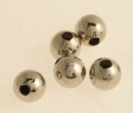 Plated Brass Bead<br>8mm<br>2 Gross For
