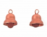 Small Bell charms<br>Copper tone<br>1 gross for