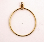 Earring Drop with 2 Loops<br>26mm<br>1 gross for