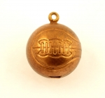 Basketball Charm<br>17mm<br>144 For