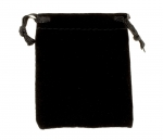 Velour Drawstring Pouch<br>3 x 3 Inches<br>25 For