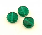 Glass Disc Bead<br>14mm<br>1 Pound For