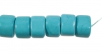 Turquoise Beads<br>32mm<br>16 Inch Strand<br>1 For