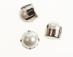 Glass Pearl In Setting<br>10mm<br>24 For