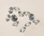 Cubic Zirconia<br>6.25mm<br>50 For