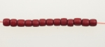 Bone Beads Dyed<br>16 Inch Strand<br>12 Strands For
