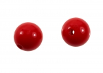 Large 3mm Hole Acrylic Bead<br>18mm Diameter<br>1 Pound For