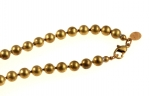 Ball Chain Necklace<br>30 Inch 6mm<br>1 Dozen For