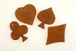 Leather Charms<br>Set Of 100 For