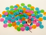 Multi Color Plastic Bead Assortment<br>12mm<br>500 For
