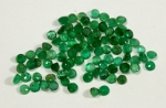 Genuine Emerald<br>2.7 To 3.0mm<br>5 Carats For