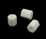 Hexagon Bead<br>10mm x 9mm<br>1 Pound For