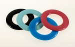 Plastic Hoop<br>74 MM Diameter<br>2 Dozen For