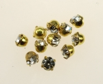 Rhinestone In Setting<br>14SS Crystal<br>2 Gross For