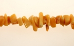 Golden Jade Chip Beads<br>6 Strands For