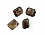 Smokey Quartz<br>10mm x 8mm<br>15 Pieces For
