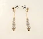 Pearl Earrings<br>1 Dozen Pair For
