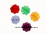 Multi Color Transparent Plastic Bead Assortment<br>12mm<br>500 Pieces For