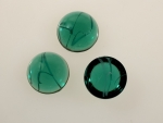 Flawed Emerald <br>18mm<br>3 Dozen For