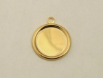 Gold Plated Setting<br>13mm<br>50 Pieces For