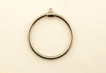 Plated Hoop<br>40mm<br>50 Pieces For