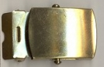 Brass Military Style Belt Buckle<br>1 dozen for