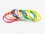 Plastic bangle bracelet assortment<br>12 dozen bracelets (144 pieces) for